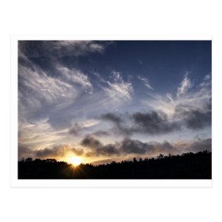 Sunset on Mauna Loa Postcard
