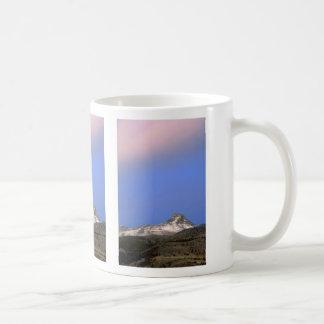 Sunset on Mount Galwey, Waterton Lakes National Pa Coffee Mug