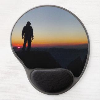 Sunset on Mt Whitney - John Muir Trail Gel Mouse Pad