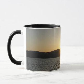 Sunset on Onota Lake: Vertical Mug