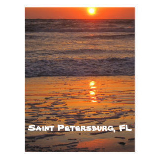 Sunset on Saint Pete Beach Postcard