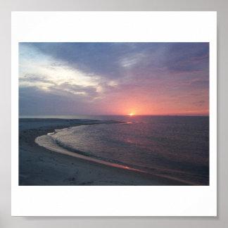 Sunset on Sand Island Print