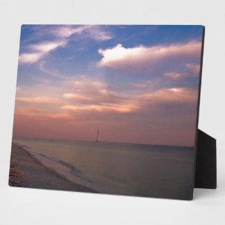 Sunset on Sanibel Island Plaque