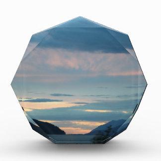 Sunset On Seward Highway Alaska Acrylic Award