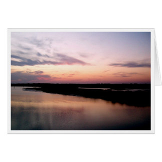 Sunset on Shelter Cove Greeting Card