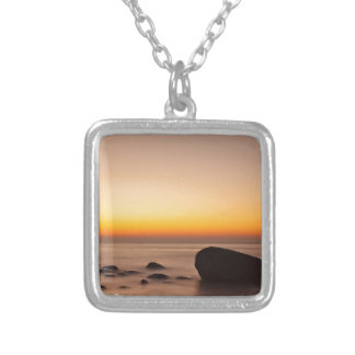 Sunset on shore of the Baltic Sea Jewelry