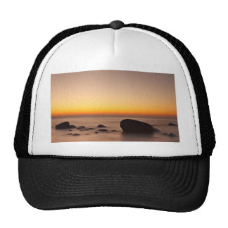 Sunset on shore of the Baltic Sea Trucker Hat