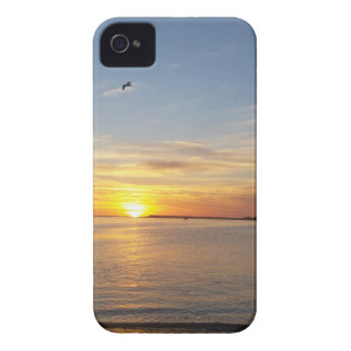 Sunset on Thanksgiving. iPhone 4 Cover