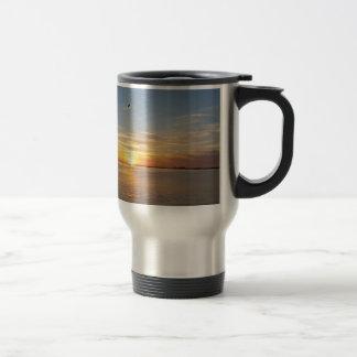 Sunset on Thanksgiving. Travel Mug