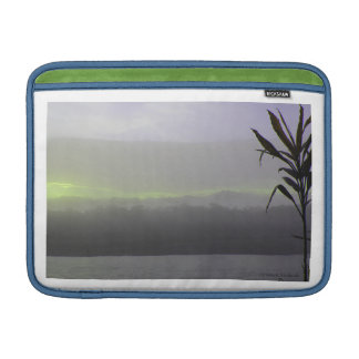 SUNSET ON THE AMAZON RIVER, Ecuador Sleeves For MacBook Air