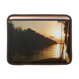 Sunset on the Amazon River MacBook Air Sleeve