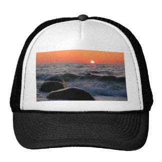 Sunset on the Baltic Sea coast Trucker Hat