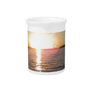 Sunset on the Bayou Drink Pitcher