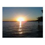 Sunset on the Bayou Postcard