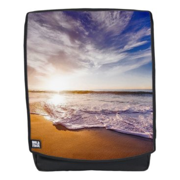 Beach Themed Sunset on the Beach Backpack