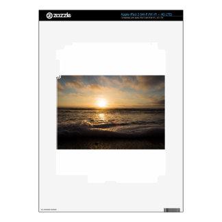 Sunset On the beach iPad 3 Skin