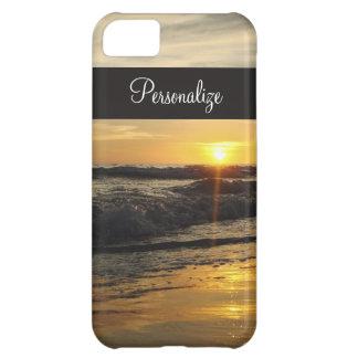 Sunset on The Beach iPhone Case