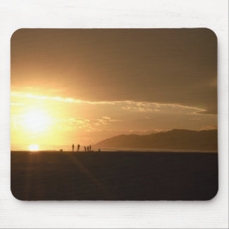 Sunset on the Beach Mouse Pad