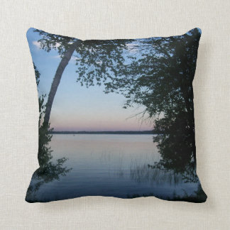sunset on the beach pillows