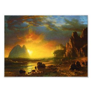 Sunset on the California Coast Photo Print