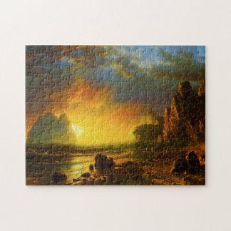 Sunset on the California Coast Puzzle