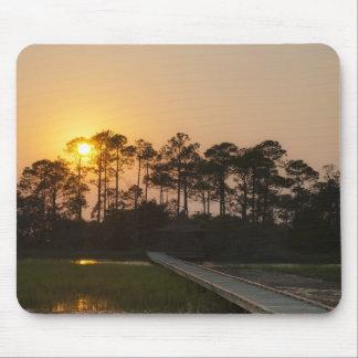 Sunset on the Carolina Coastal Mouse Pad