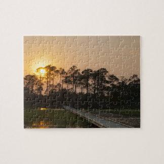 Sunset on the Carolina Coastal Puzzle
