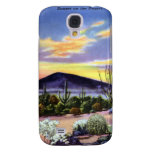 Sunset on the Desert in New Mexico Galaxy S4 Covers