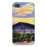 Sunset on the Desert in New Mexico iPhone 4/4S Cover