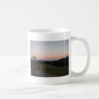 Sunset on the Golf course at Lake Arrowhead Coffee Mug