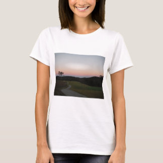 Sunset on the Golf course at Lake Arrowhead T-Shirt