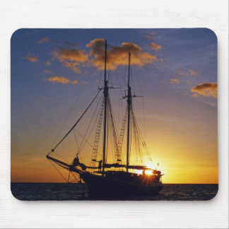 Sunset on the Great Barrier Reef Mousepads