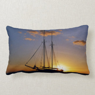 Sunset on the Great Barrier Reef Pillows