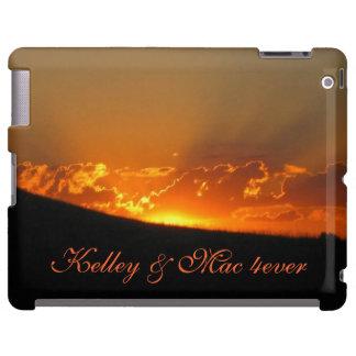 Sunset On The Horizon iPad Case