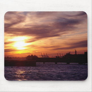 Sunset on the Hudson Mouse Pad