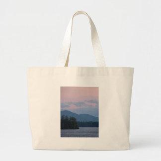 Sunset on the Lake 3 Jumbo Tote Bag