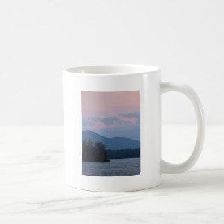 Sunset on the Lake 3 Classic White Coffee Mug