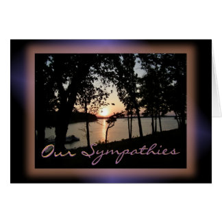 Sunset on the Lake-customize any occasion Greeting Card