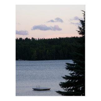 Sunset on the Lake Postcards