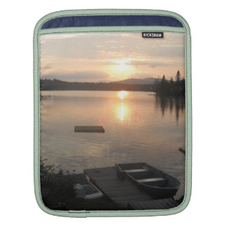 Sunset on the Lake Sleeves For iPads