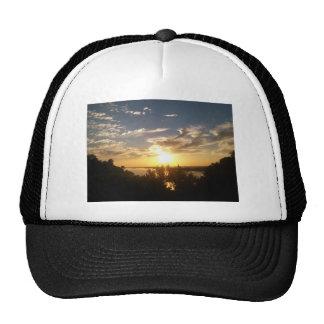 Sunset on the Mississipp Trucker Hats