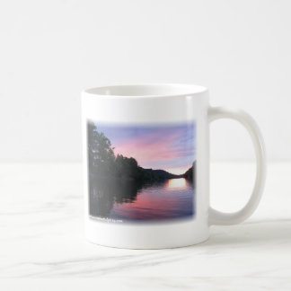 Sunset on the Muskingum River, Poster 08 Classic White Coffee Mug