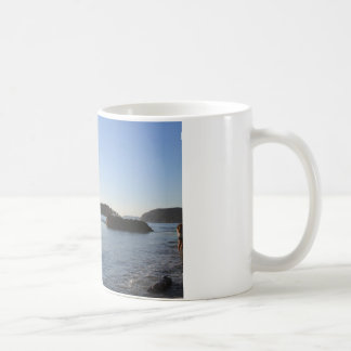 Sunset on the Ocean Coffee Mugs