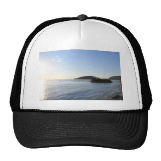 Sunset on the Ocean Trucker Hat