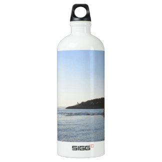 Sunset on the Ocean Water Bottle