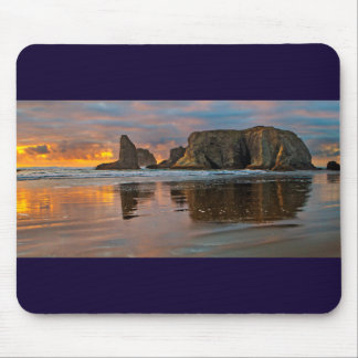Sunset on the Oregon Coast - Bandon Mouse Pad