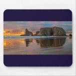 Sunset on the Oregon Coast - Bandon Mouse Pads