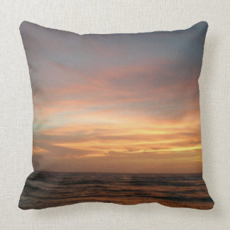 Sunset On The Outer Banks of North Carolina Throw Pillow