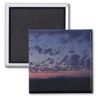 Sunset on the Oylmpic Mountains Refrigerator Magnets