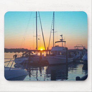 Sunset on the Pamlico Coast Mouse Pad